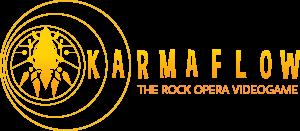 Karmaflow logo met woord